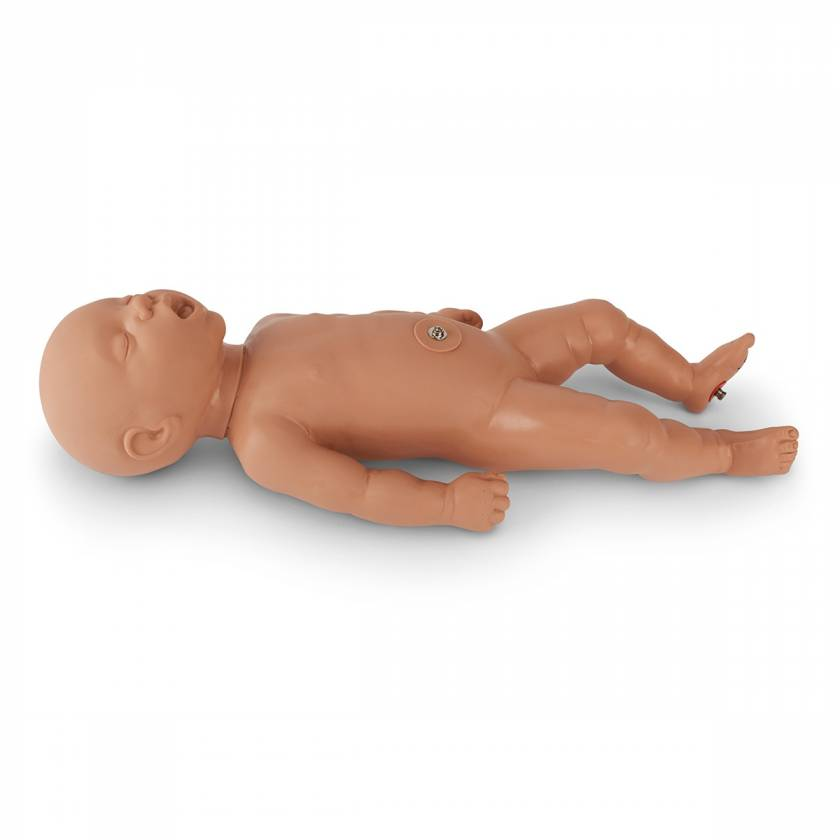 Simulaids Newborn Baby for Forceps/OB Manikin - 28 in. x 8 in. x 8 in. - Light