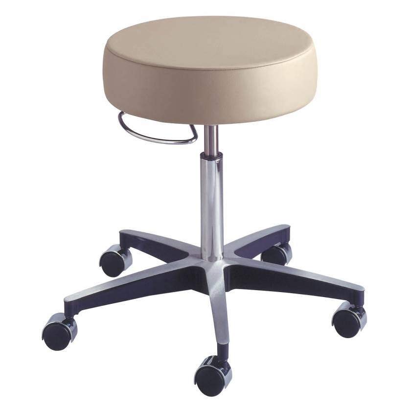 Model 11001LCD Century Pneumatic Stool with Locking Casters