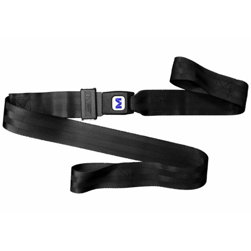 2-Piece Nylon Strap with Metal Push Button Buckle & Loop-Lok Ends - 4'