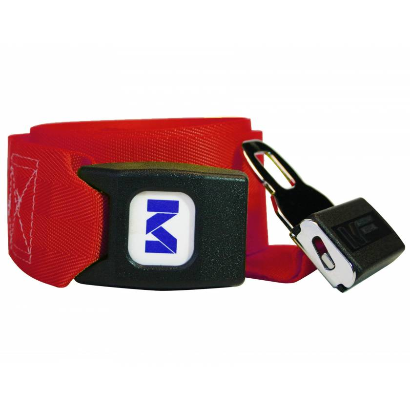 Morrison Medical 1209 1-Piece Nylon Strap with Metal Push Button Buckle - 9'