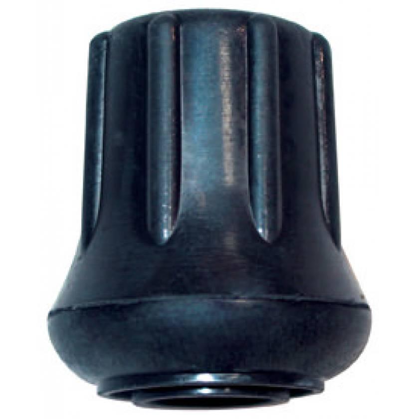 "Pedigo Standard 1"" Rubber Floor Tips - Black"