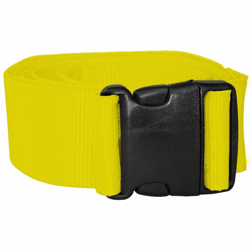 1-Piece Polypropylene Strap with Plastic Side Release Buckle