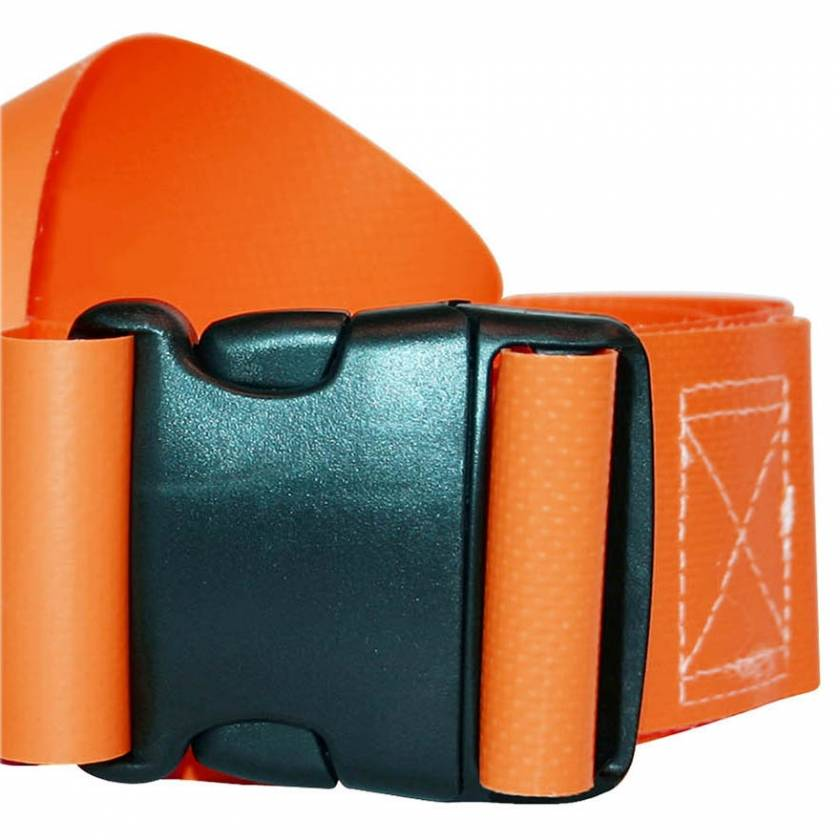 1-Piece Impervious Vinyl Strap with Plastic Side Release Buckle