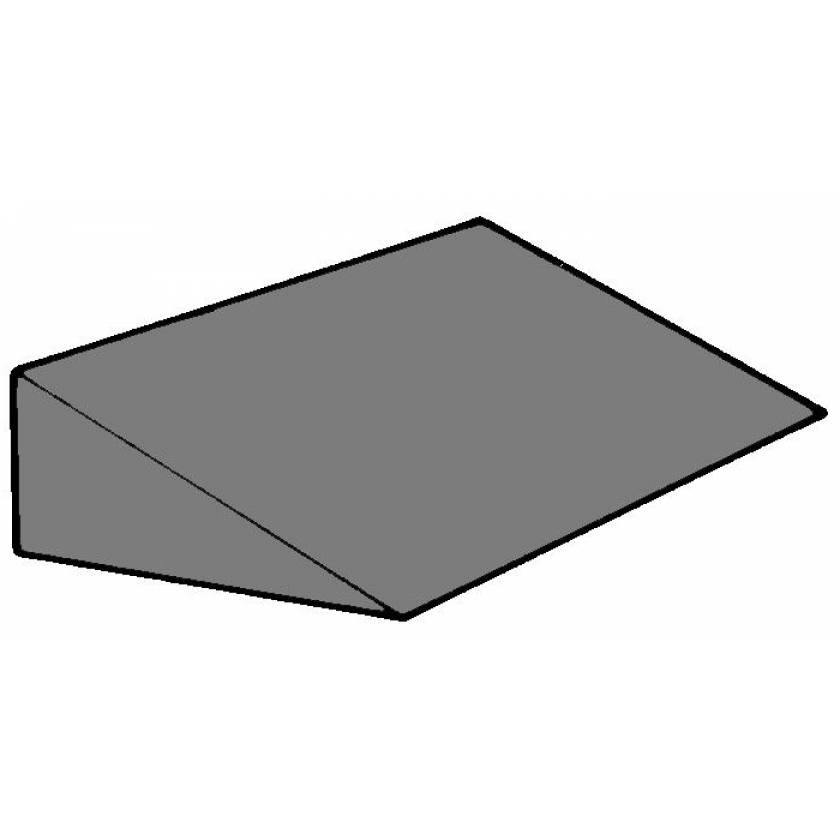 "Cranial Wedge Foam Positioning - 21 Degree - 3 3/4""H x 8""W x 10""L"