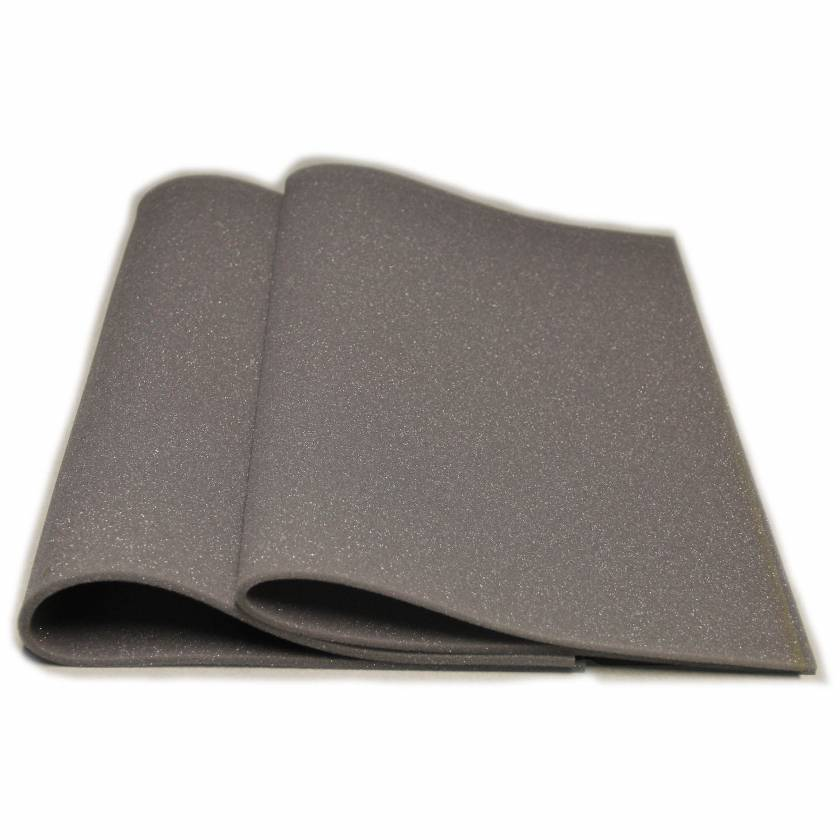 """Domico Med-Device 154 Thin Mat Rectangle Uncovered Foam Positioner - 0.25""""H x 18""""W x 24""""L"""