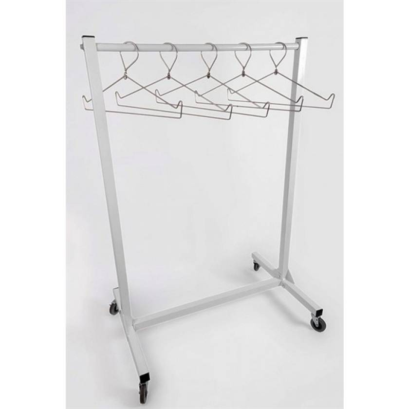 "Garment Style Apron Storage Rack - 36"" Wide"