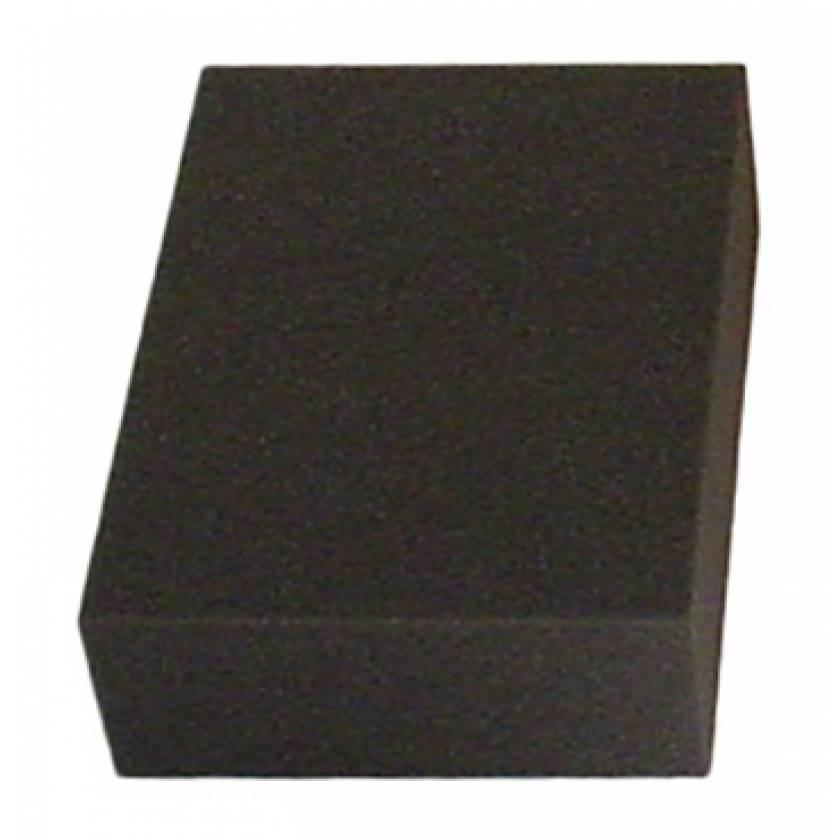 "Rectangle Foam Positioner - 3""H x 7 1/2""W x 10""L"
