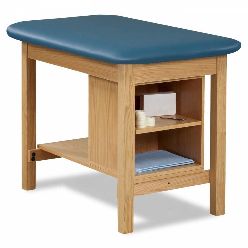 Clinton Model 1703 Taping Table with End Shelf