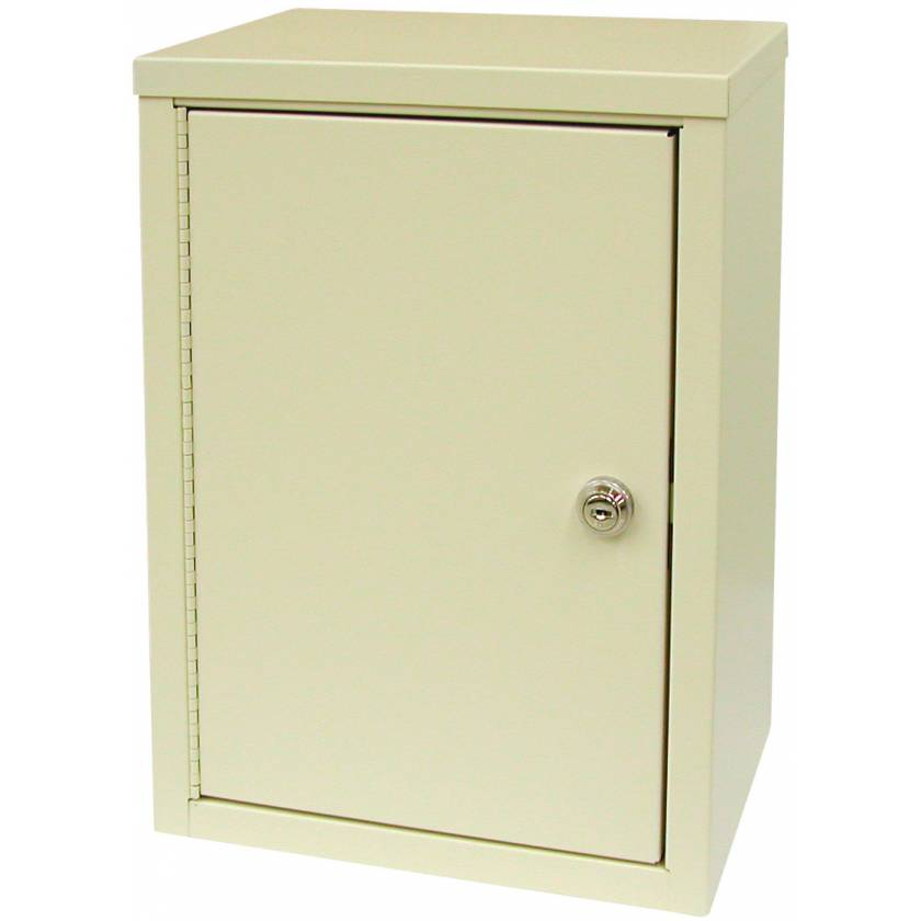 "Medium Economy Narcotic Cabinet, Double Door, Double Lock - 15"" H x 11"" W x 8"" D"