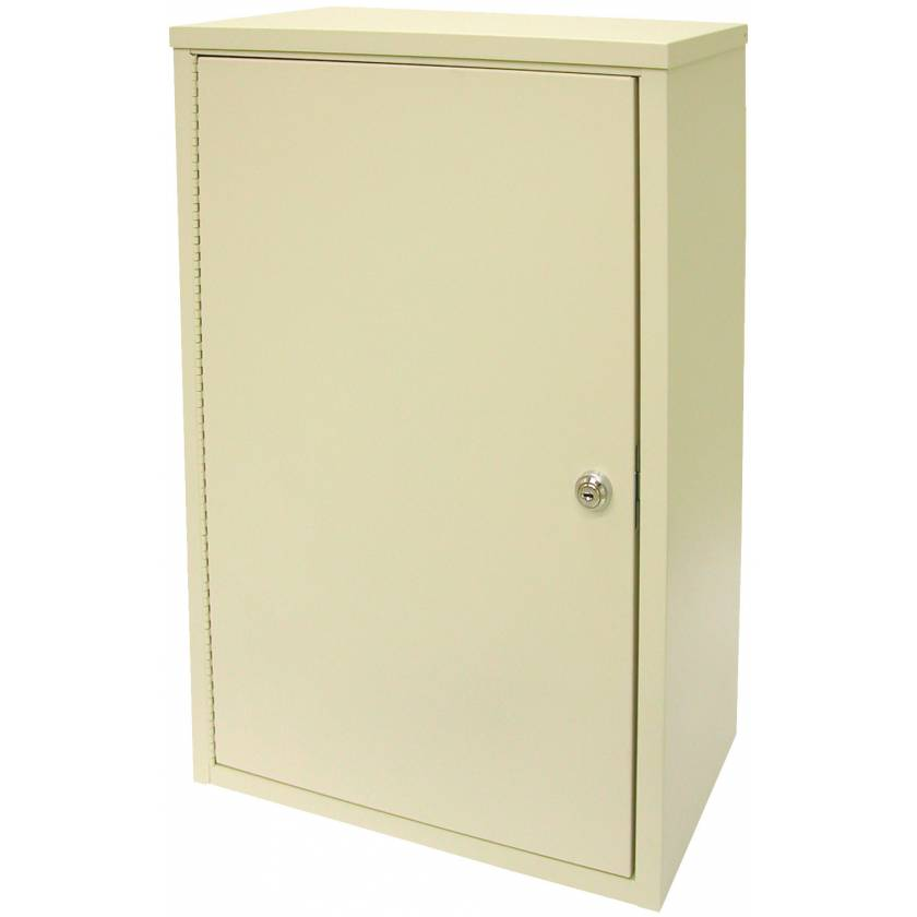 "Large Economy Narcotic Cabinet, Double Door, Double Lock - 24"" H x 16"" W x 8"" D"