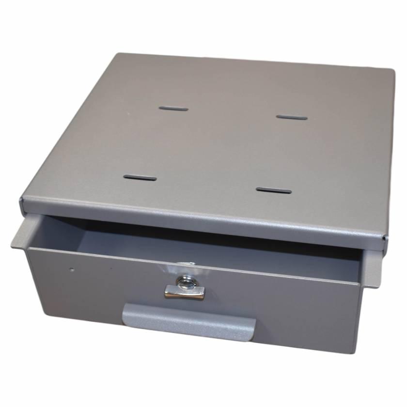 Model 183025T Omni Medium Aluminum Refrigerator Lock Box - Thumb Latch