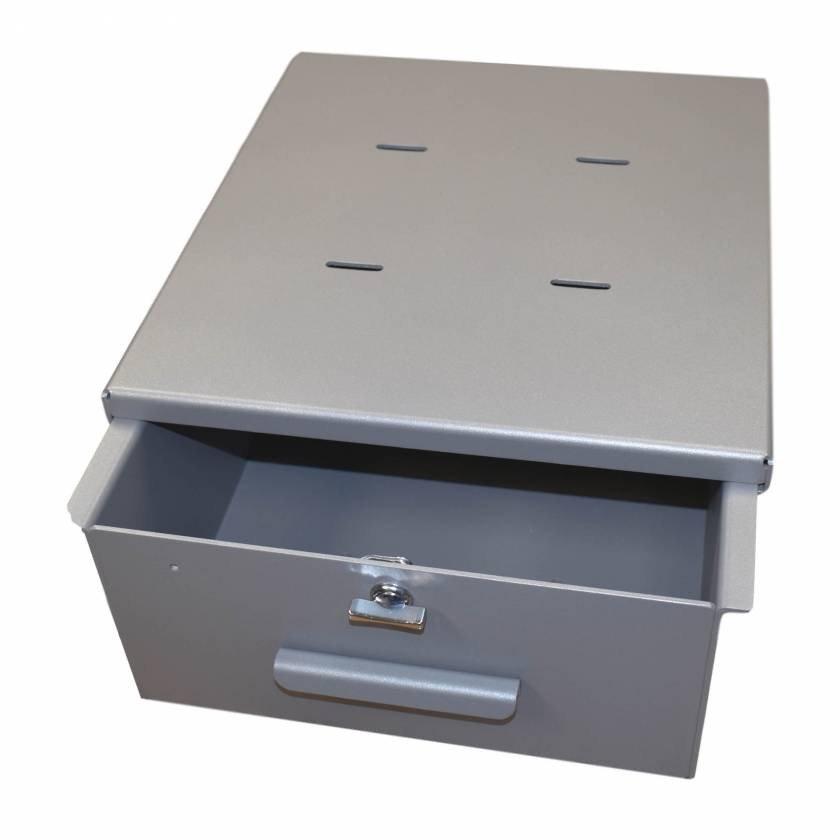 Model 183035T Omni Large Aluminum Refrigerator Lock Box - Large - Thumb Latch