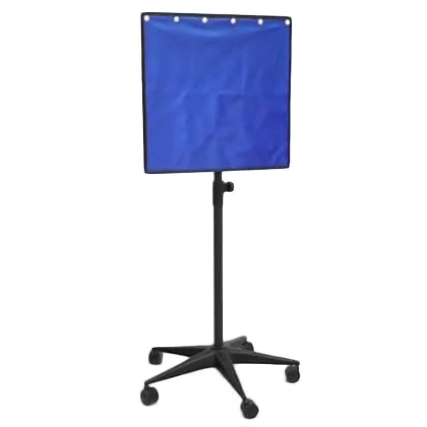 "Mobile Lead Porta-Shield  24"" W x 24"" H Panel - Front at 60"" Height"