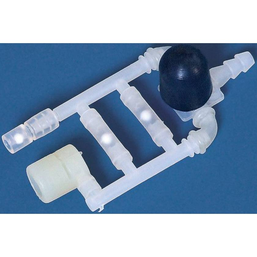 BrandTech Valve System (PP) for Macro Pipette Controllers