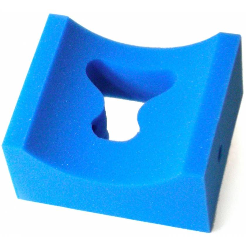 "Prone Concave Head Positioner - 8"" x 9"" x 4"" Thick"