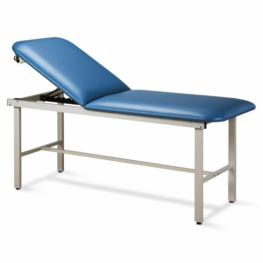 Clinton Model 3010 ETA Alpha Series Straight Line Treatment Table with H-Brace