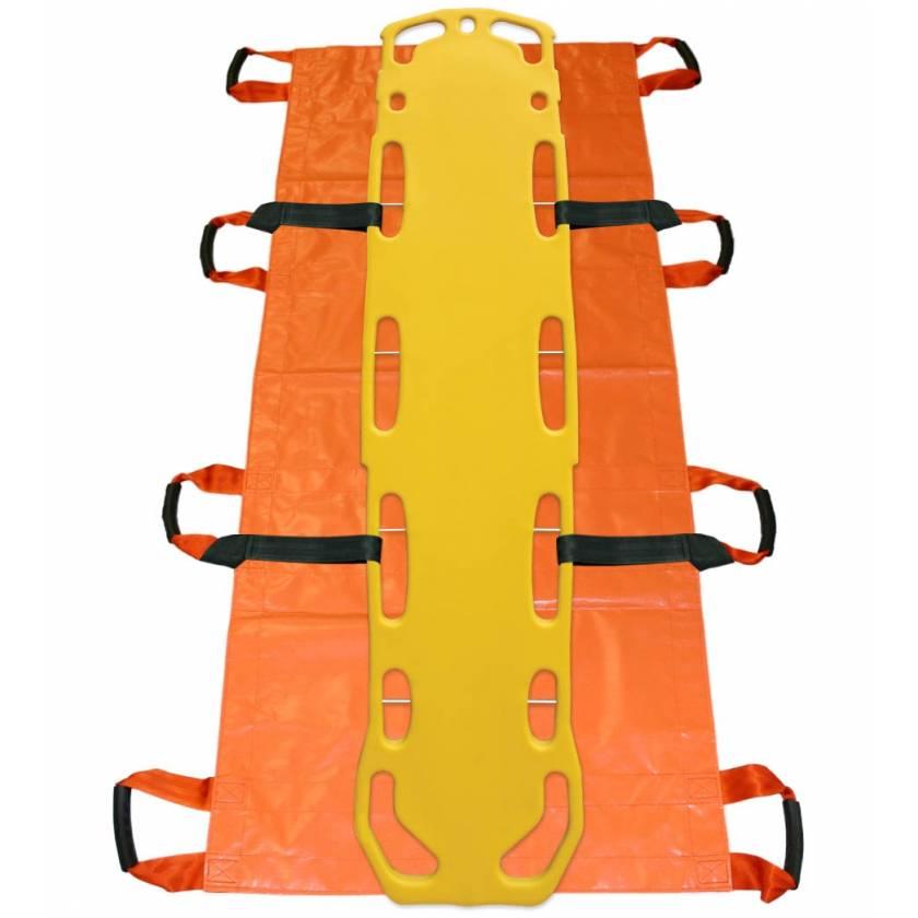 Morrison Medical 3014 Complete Transport System: Regular Soft Stretcher Regular Load Loks Select Backboard with Pins