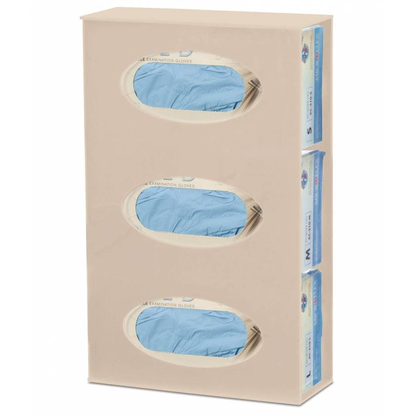 OmniMed 305368 Antimicrobia Triple Glove Box Holder