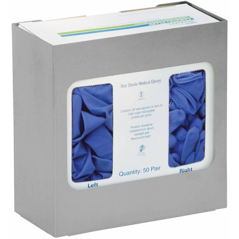Stainless Steel Chemo Glove Box Holder - Single