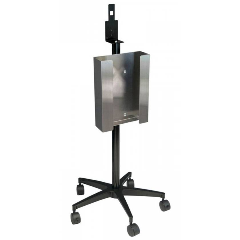 Mobile Glove And Sanitizer Stand