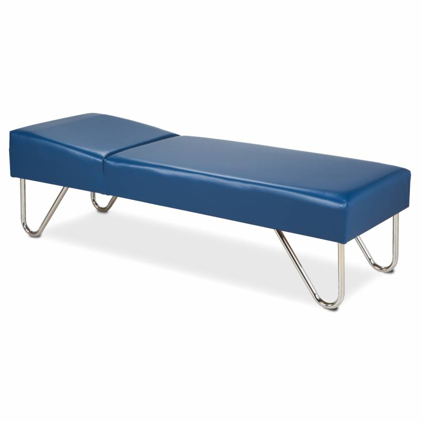 Clinton Model 3600 Recovery Couch with Chrome Legs