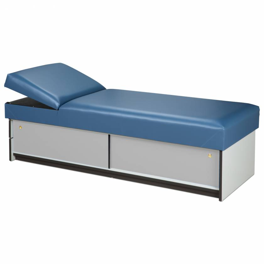 Clinton 3770-16 Recovery Couch with Sliding Doors & Adjustable Pillow Wedge Headrest