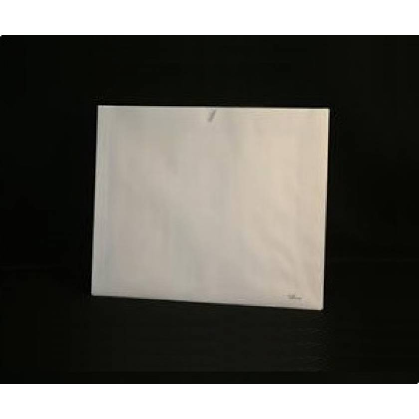 White Insert Jacket - Blank - No Printing - Open Top