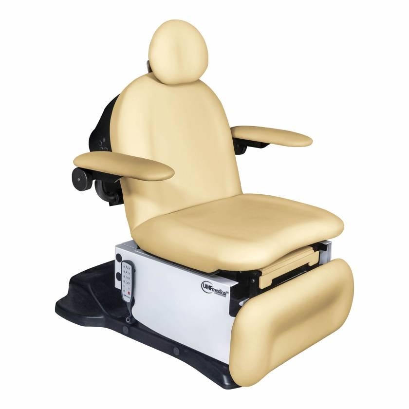 Model 4010-650-100 Power4010 Head Centric Procedure Chair with Programmable Hand Control - Lemon Meringue