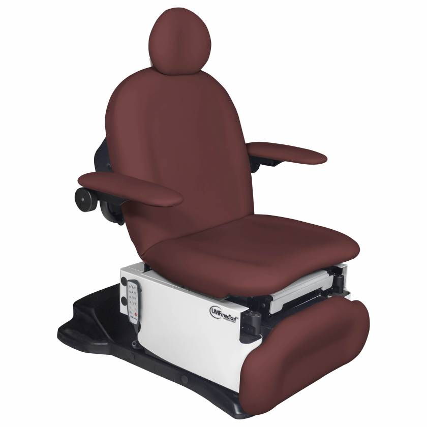 Model 4011-650-100 Power4011 Ultra Procedure Chair with Programmable Hand Control - Fine Wine