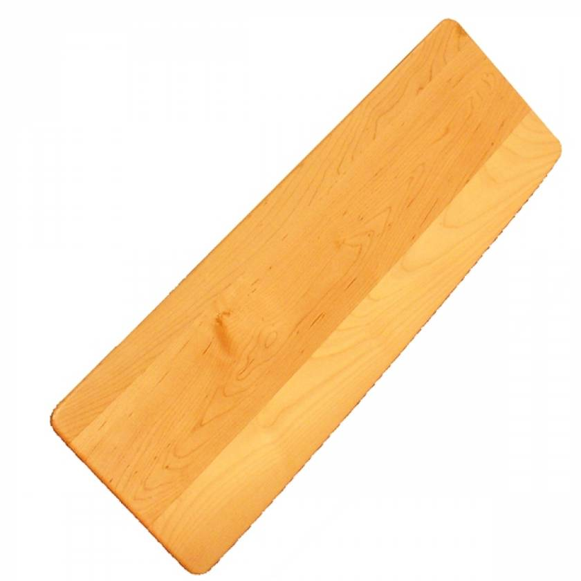 SafetySure Non-Slotted Solid Maple Transfer Board