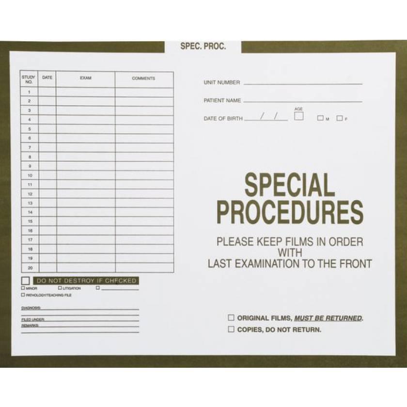 Insert Envelopes - Special Procedures