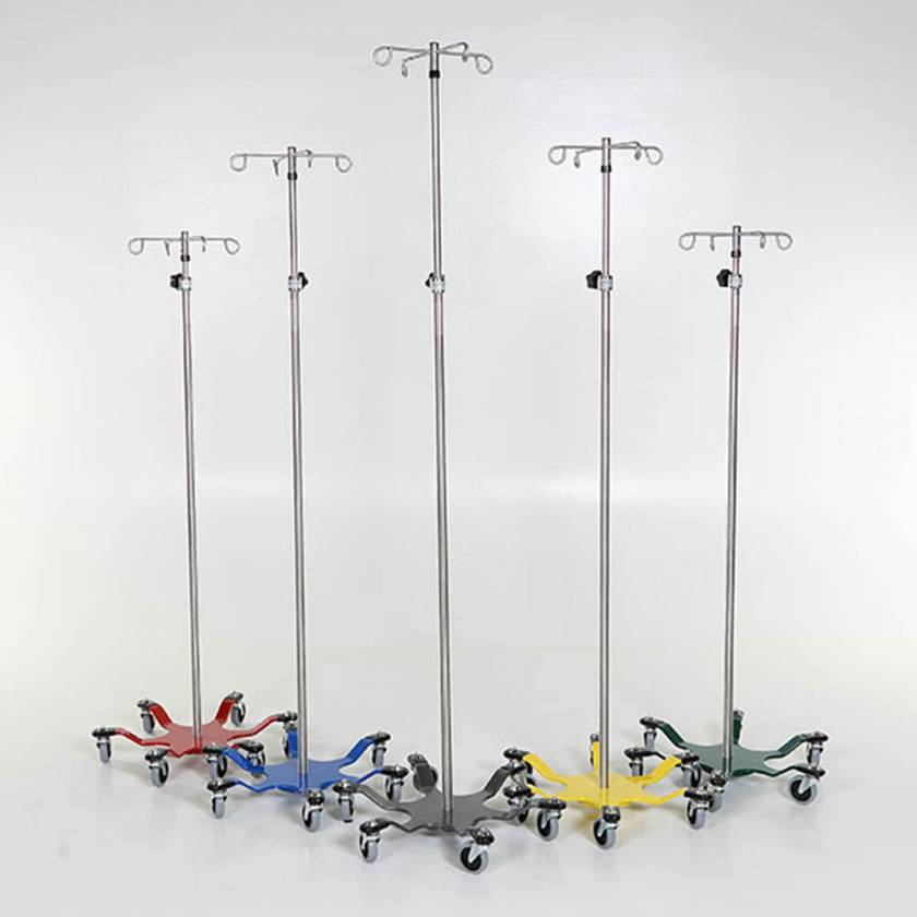 Stainless Steel 6-Leg Spider IV Pole with Color Coded Base Model MCM276