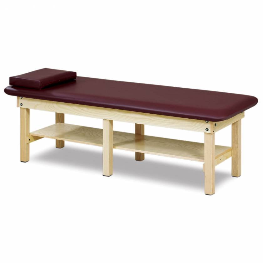 Clinton Model 6196 Classic Series Bariatric Treatment Table with Shelf