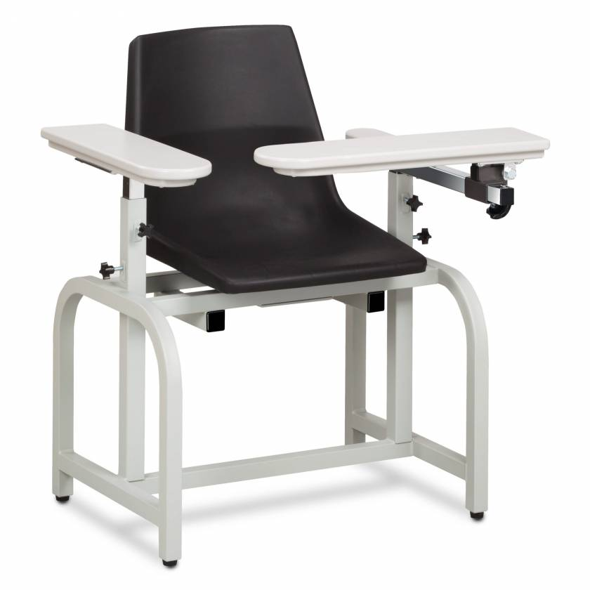 Clinton Standard Lab Series Blood Drawing Chair with Flip-Arm Model 66060