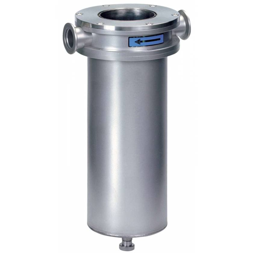BrandTech Stainless Steel Cold Trap SKF H 25 for Rotary Vane Vacuum Pumps