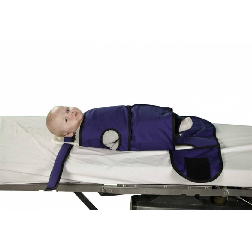 Radiolucent Papoose Board MRI Safe - Small (Infants 3 - 24 months)