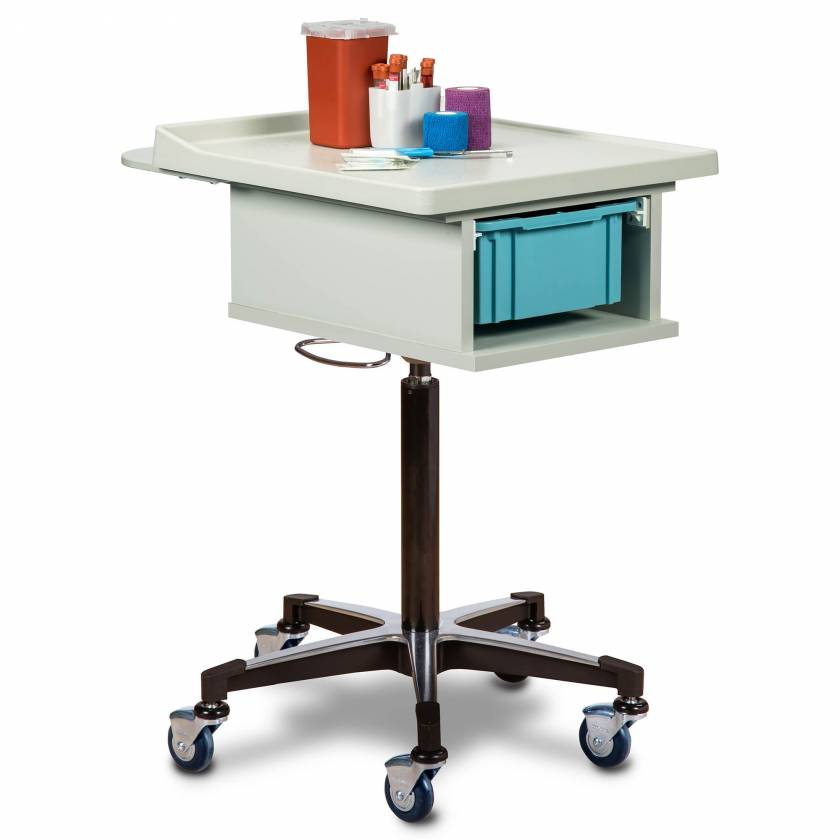 Clinton 67100 Phlebotomy Cart with One-Bin