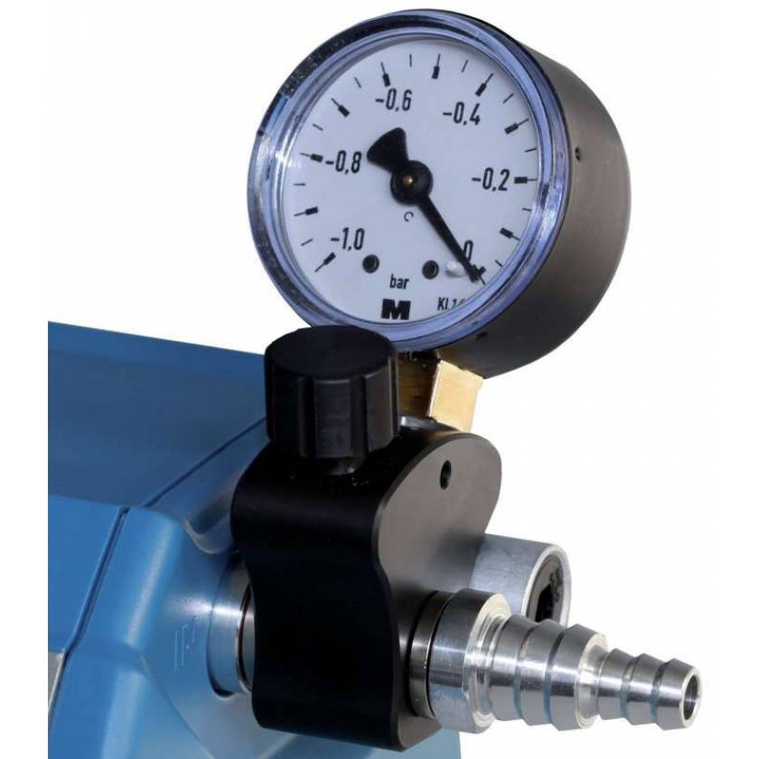 BrandTech VACUUBRAND Vacuum Regulation Valve with Manometer for ME1 Diaphragm Pump