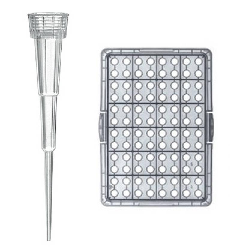 BRAND Bio-Cert Sterile Nano-Cap Pipette Tip 0.1-20uL