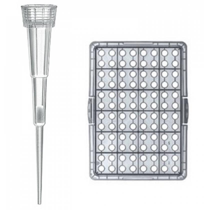 BRAND Bio-Cert Sterile Ultra Low Retention Nano-Cap Filter Pipette Tip-Box 0.1-1uL