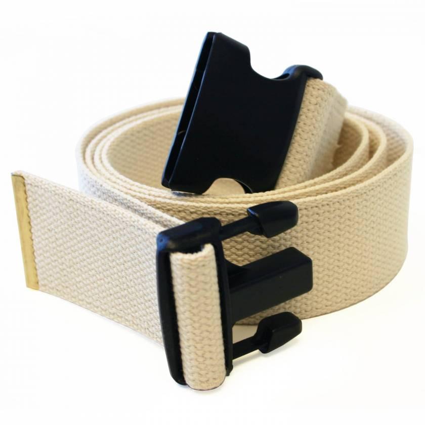 Morrison Medical Cotton Gait Belt with Plastic Side Release Buckle