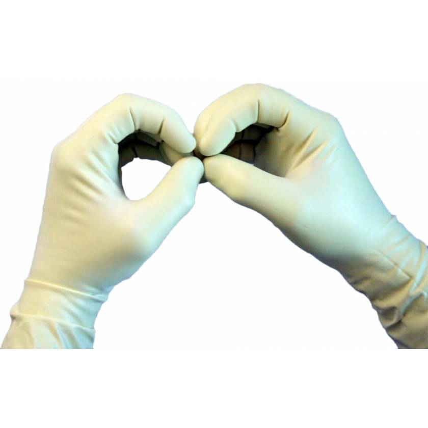 Latex and Lead Free Radiation Resistant Gloves