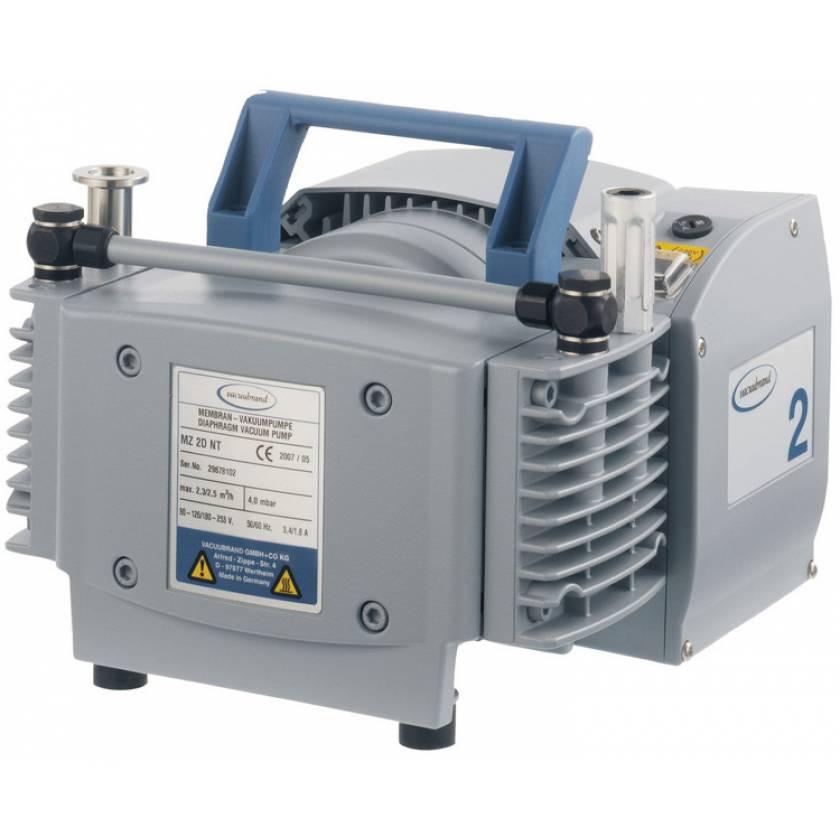BrandTech VACUUBRAND MZ2D NT Diaphragm Vacuum Pump 120V 50-60Hz