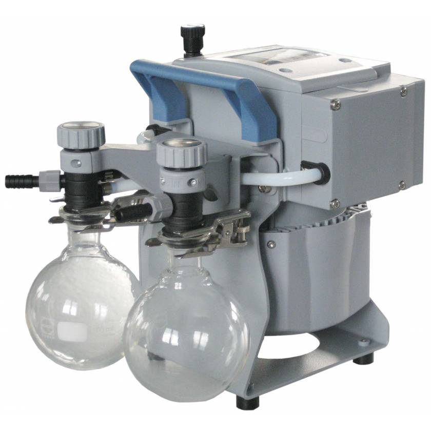 BrandTech VACUUBRAND MZ2C NT+2AK Dry Chemistry Diaphragm Vacuum Pump 120V 50-60Hz