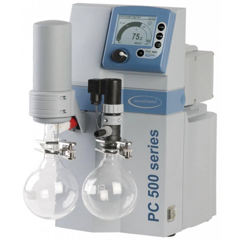BrandTech VACUUBRAND PC510 NT Dry Chemistry Vacuum Pump System 120V 50-60Hz