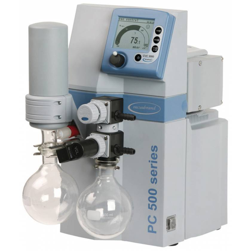 BrandTech VACUUBRAND PC511 NT Dry Chemistry Vacuum Pump System 120V 50-60Hz