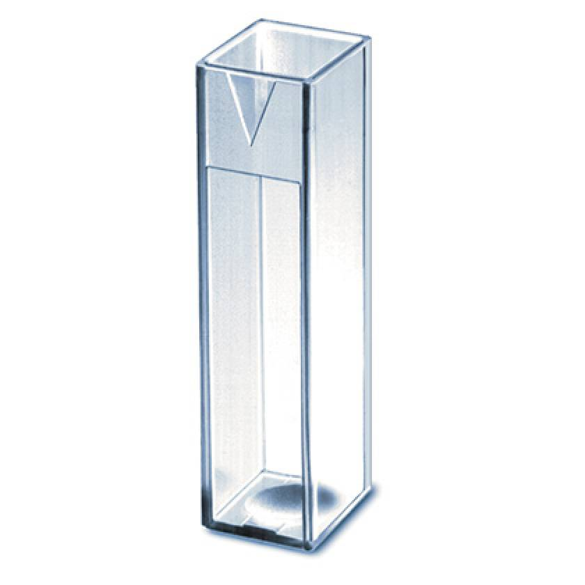 BrandTech BRAND UV-Transparent Spectrophotometry Cuvette - Macro