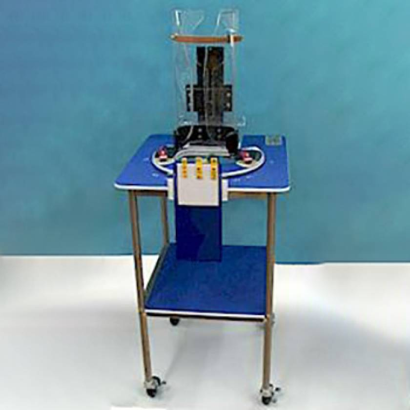 Pigg-O-Stat Pediatric Immobilizer and Positioner Unit (Complete Unit for Analog/CR Imaging)