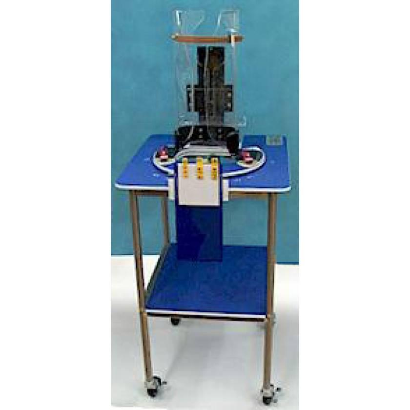 Pigg-O-Stat Pediatric Immobilizer and Positioner Unit (Complete Unit for DR Imaging)