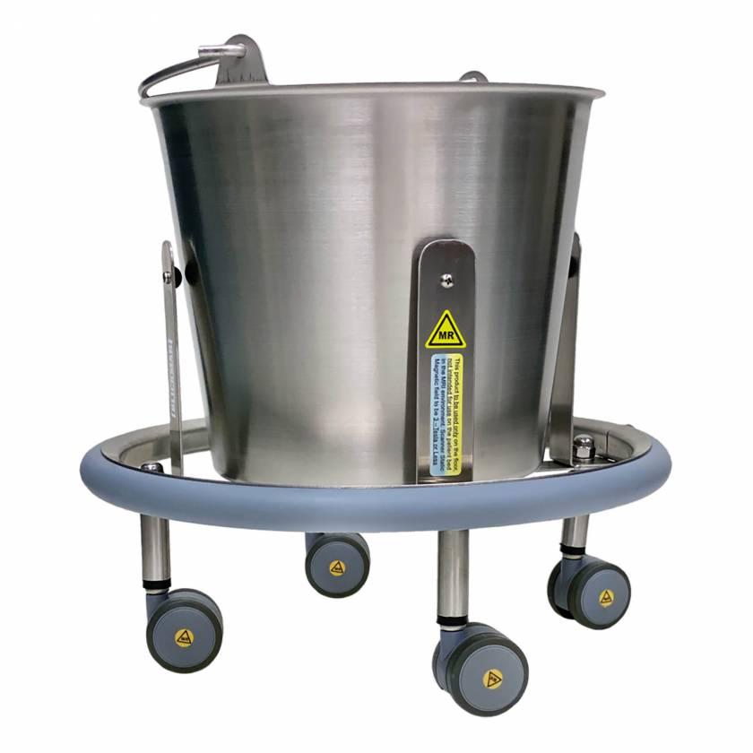 Blickman Model 7766MR MRI Kick-Bucket